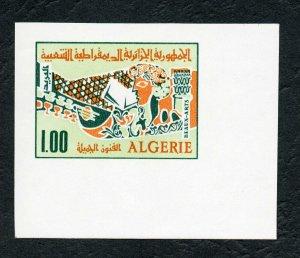 1970 - Algeria - Imperforated- Imperf - Algerian Fine Arts- Painting- MNH**