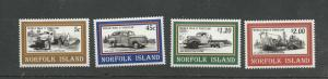 Norfolk Island Scott catalogue # 581-584 Unused HR