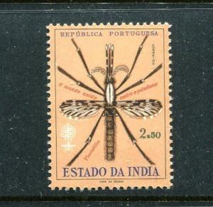 Portuguese India  MNH, Michel 590. WHO drive to eradicate Malaria, 1962. x18384