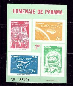 Panama C277a MNH 1962 John Glenn S/S