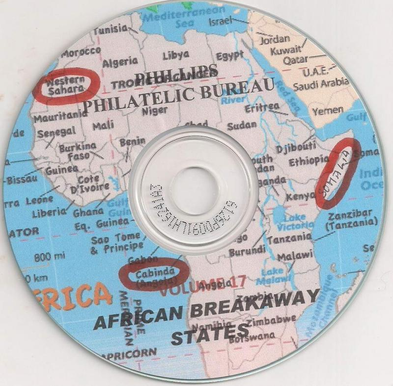 African Breakaway States Issues - CD Catalogue - 2017