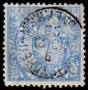 New South Wales Scott 88a, Perf. 11 (1890) Used F CV $90.00 M