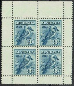 AUSTRALIA 1928 KOOKABURRA MINIATURE SHEET MNH **