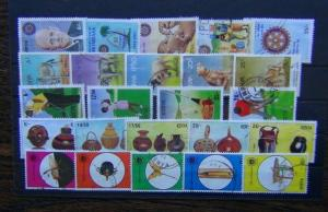 Kenya 1994 Rotary 1995 Animals Golf Culture Insects sets Fine Used