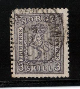 Norway #13 XF Used
