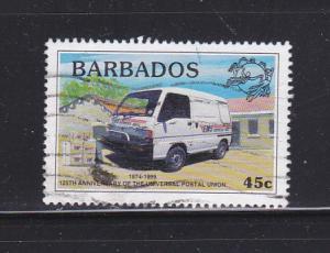 Barbados 974 U Mail Van