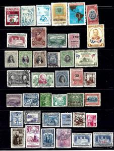 Dominican Republic #1 40 diff mint and used
