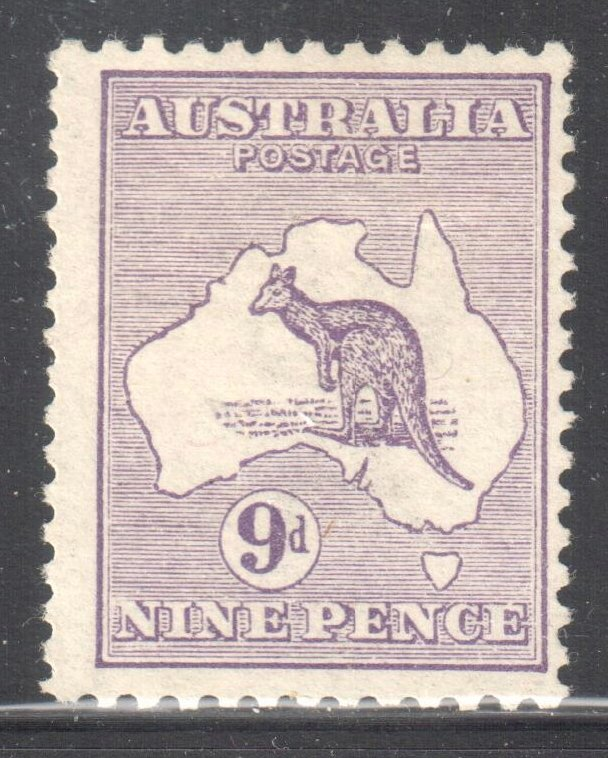Australia #9 MINT LH C$160.00