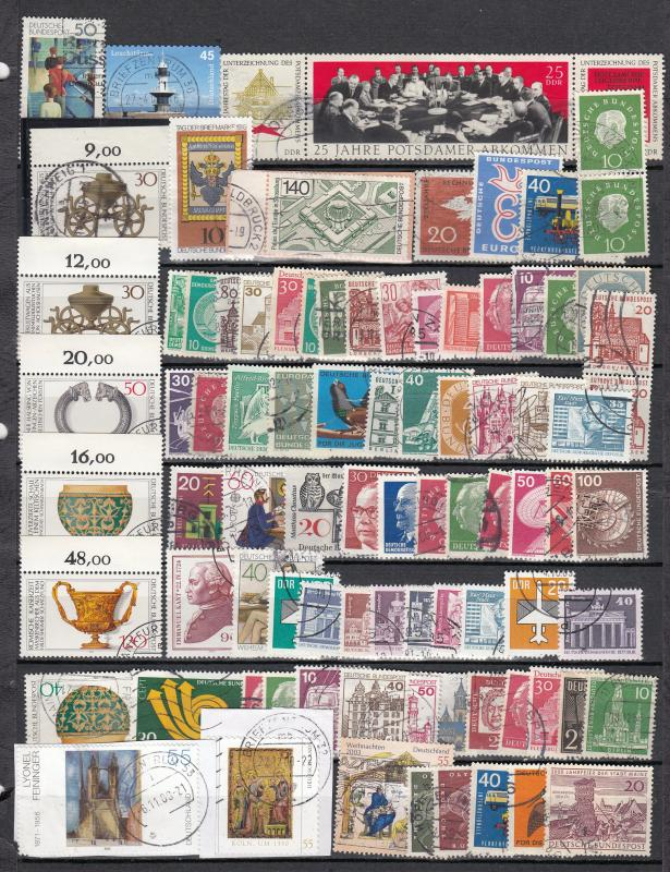 Germany - 88 stamp lot # 4 - (2436)