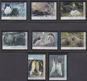 Australian Antarctic Territory L83-L89 MNH (1992-1993)