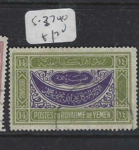 YEMEN (P1604B) 14B   SG 37   VFU