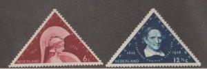 Netherlands Scott #204-205 Stamp - Mint Set