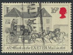 Great Britain SG 1259 - Used - First Mail Coach
