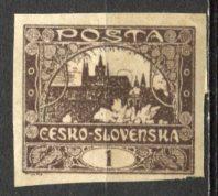 Czechoslovakia; 1919: Sc. # 23: O/Used Single Stamp