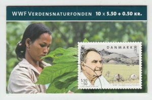 Denmark Sc B94 Intact Booklet. 2009 Prince Henrik & Farm Semi-Postal Booklet, VF