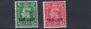 TANGIER  1944    S G 251 - 252  SET OF 2   VLMH