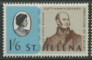 STAMP STATION PERTH St Helena #207 Abolition of Slavery 1968 MNH