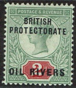 NIGER COAST 1892 QV OIL RIVERS GB 2D