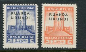 Ruanda Urundi #61-2 MNH