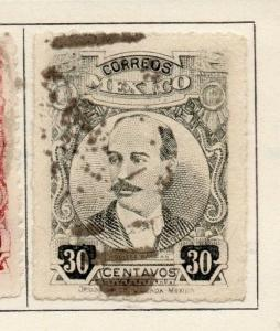 Mexico 1917 Early Issue Used 20c. 184085