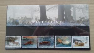 Great Britain 1992 Animals in Winter Mint