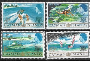 Cayman Is. # 193-96 Tourism Year     (4)    Mint NH