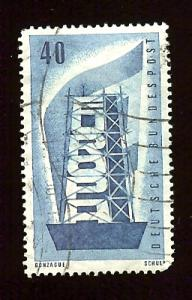 Germany 749 40c Europa Cept 1956  used (.60)
