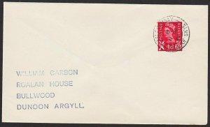 GB SCOTLAND 1969 cover ISLE ORNSAY / ISLE OF SKYE cds......................67814