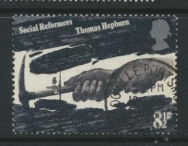 Great Britain SG 1001 - Used - Social Reformers