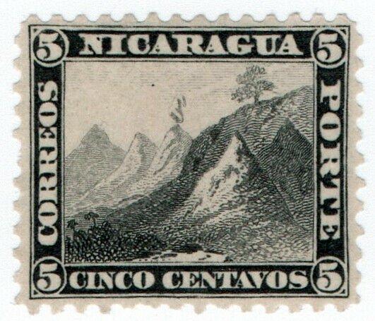 (I.B) Nicaragua Postal : Postage Due 5c