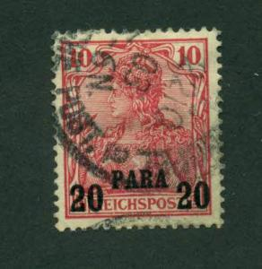 Germany Offices Turkish Empire 1900 #14 U SCV(2018)=$2.25