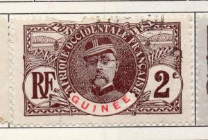French Guinea 1906 Early Issue Fine Used 2c. 193455