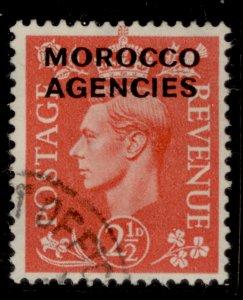 MOROCCO AGENCIES SG98, 2½d pale-scarlet, FINE USED.