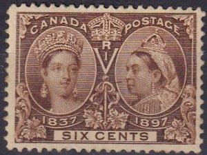 Canada #55 MNH  CV $575.00 (Z3850)
