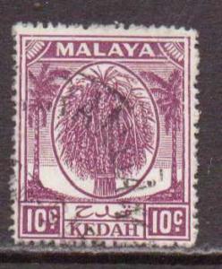Malaya-Kedah   #69  used  (1950)