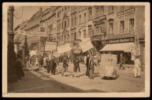 Germany 1922 Revolution Leipzig Protests Gruss von der Leiziger Messe 79764