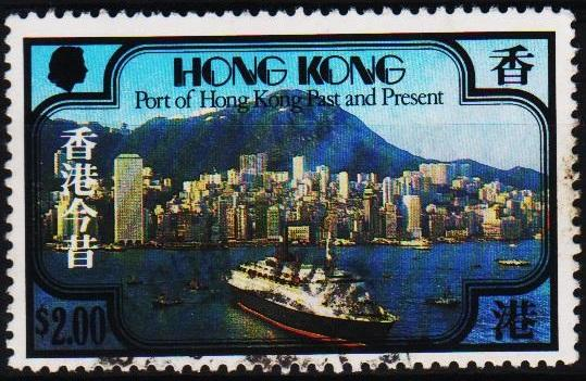 Hong Kong. 1982 $2 S.G.410 Fine Used