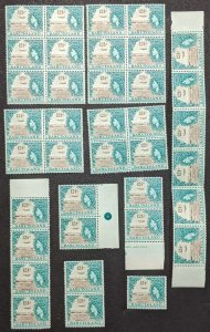 EDW1949SELL : BASUTOLAND 1962 Scott #79. 37 stamps. Key Value. VF MNH. Cat $888.
