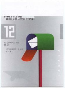 Canada - 2000 Rural Mail Boxes Booklet mint #BK226b