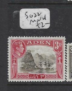 ADEN  (P0406B)  KGVI  3A  SG 22    MNH