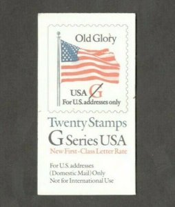 BK223 Old Glory G Booklet Of 20 Mint/nh Free Shipping