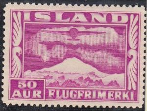 (SA) Iceland Scott #C18 MVLH perf 14
