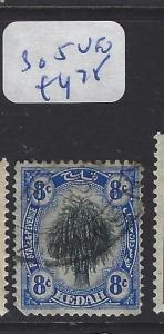 MALAYA KEDAH  (P0707B)  LEAF 8C    SG  5   VFU