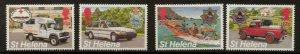 ST.HELENA SG681/4 1995 EMERGENCY SERVICES MNH