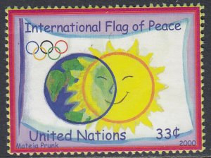UN 782 MNH - Flag of Peace