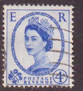 Great Britain   #298  used  (1953)  c.v. $1.10