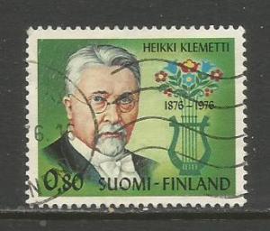 Finland    #584  Used  (1976)  c.v. $0.50