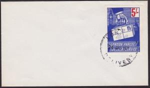 GB 1971 Postal Strike : London Parcel Delivery stamps on cover..............6704
