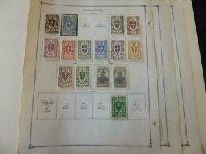 Camerouns 1940-1949 Mint/Used Stamp Collection on Album Pages