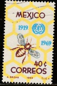 MEXICO 1006 50th Anniv of Int Labor Organization. Used. VF. (231)